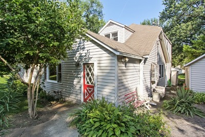 Lake Zurich Single Family Home Re-activated: 23786 North Lakeside Drive