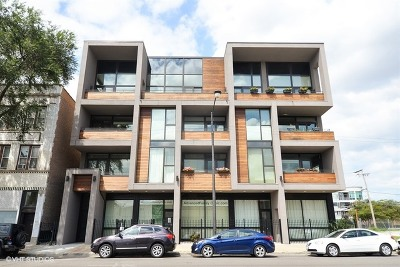 Chicago Condo/Townhouse New: 2424 West Chicago Avenue #301
