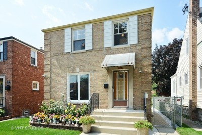 Chicago Single Family Home New: 3018 North Oleander Avenue