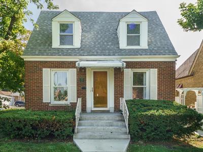 Chicago Single Family Home New: 2859 North Oak Park Avenue