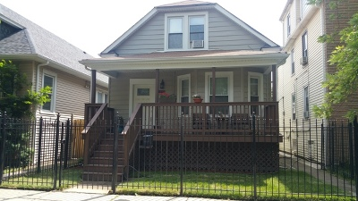 Chicago Single Family Home New: 2449 North Long Avenue