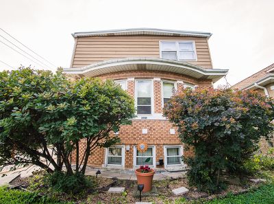 Chicago Single Family Home New: 3220 North Plainfield Avenue