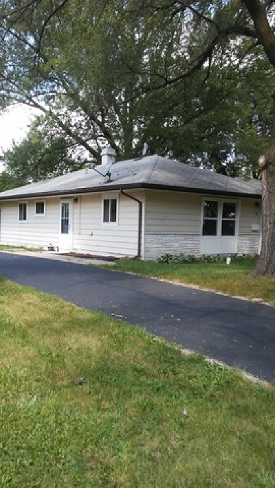 Carpentersville Single Family Home For Sale: 58 Birch Street