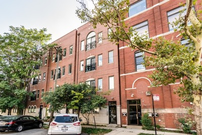 Chicago Condo/Townhouse New: 428 North Noble Street #3