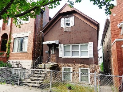Chicago Single Family Home New: 2138 West Charleston Street