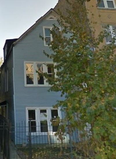 Cook County Multi Family Home For Sale: 3627 West Shakespeare Avenue