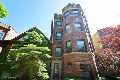 Cook County Condo/Townhouse For Sale: 1425 West Rascher Avenue #1