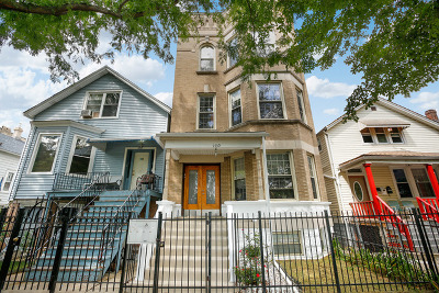 Chicago Multi Family Home New: 1730 North Francisco Avenue