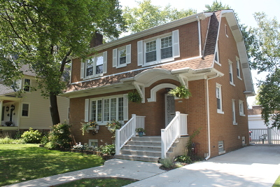 Chicago Single Family Home New: 6826 North Oleander Avenue