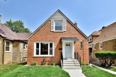 Chicago Single Family Home New: 11007 South Green Street