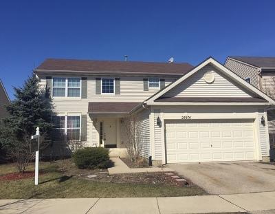 Round Lake Single Family Home New: 25974 West Brooks Farm Road