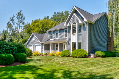 Bartlett Single Family Home Contingent: 29w460 Morningside Drive