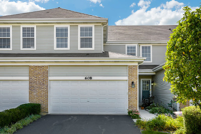Naperville Condo/Townhouse New: 608 Waterview Court