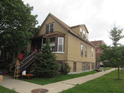 Cook County Single Family Home Contingent: 1808 West Farragut Avenue