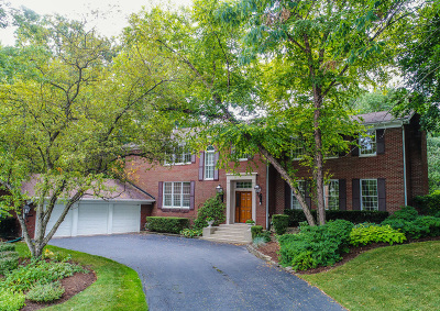 Hinsdale Single Family Home Contingent: 815 Merrill Woods Road