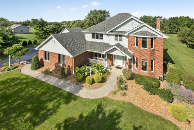 Homer Glen Single Family Home Contingent: 16100 South Leach Drive