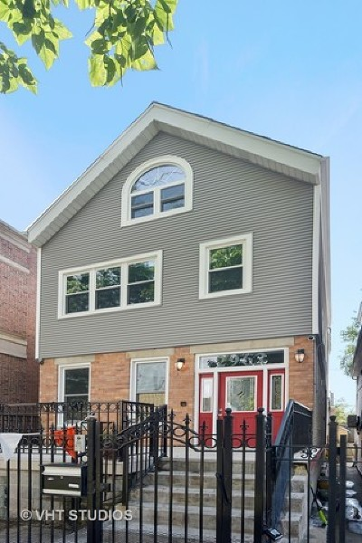 Cook County Single Family Home New: 2962 North Oakley Avenue
