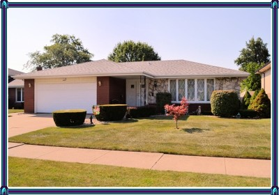 South Holland Single Family Home For Sale: 1219 East 166th Street