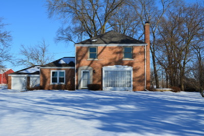 Marengo Single Family Home New: 206 Busse Road