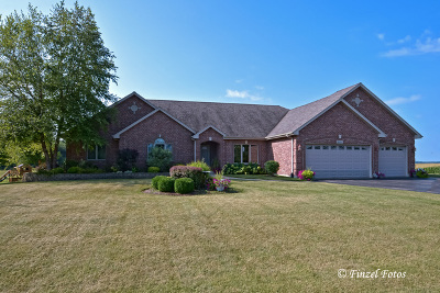 Marengo Single Family Home New: 21517 Weiss Trail