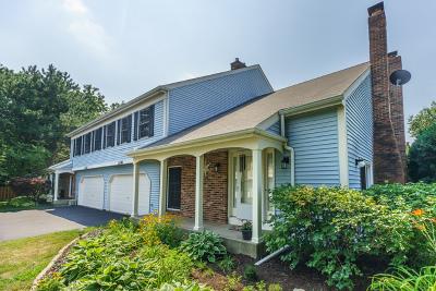 Warrenville Condo/Townhouse For Sale: 2s761 Grove Lane