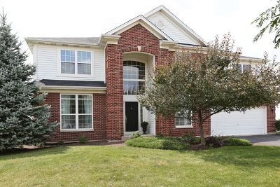 Plainfield Single Family Home Contingent: 25337 Federal Circle