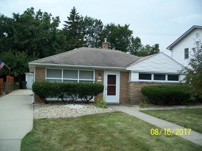 Homewood Single Family Home For Sale: 2041 175th Street