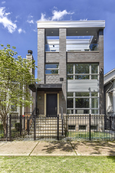 Cook County Single Family Home New: 1506 West School Street