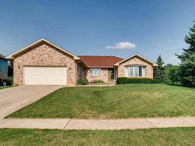 Homer Glen Single Family Home For Sale: 13839 South Teakwood Drive