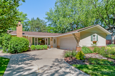 Downers Grove Single Family Home For Sale: 6712 Briargate Drive