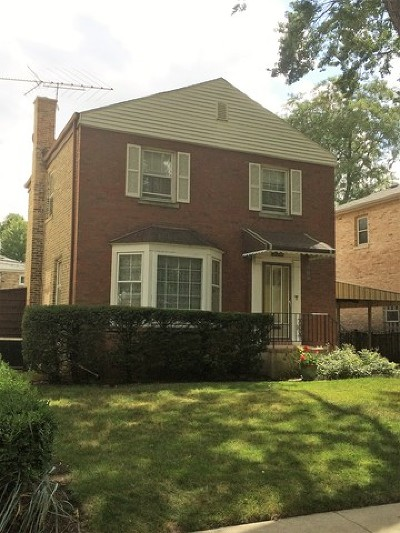 Cook County Single Family Home New: 2319 West Hutchinson Street
