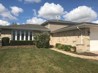 Tinley Park Single Family Home For Sale: 16836 Creekside Avenue