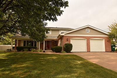 Homer Glen Single Family Home For Sale: 13308 West Hiawatha Drive