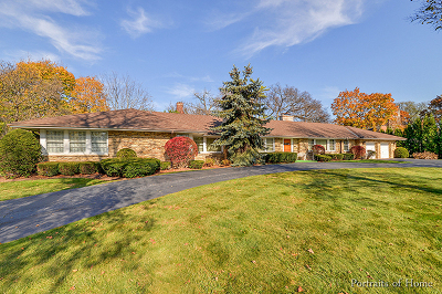 Hinsdale Single Family Home New: 555 Woodland Avenue