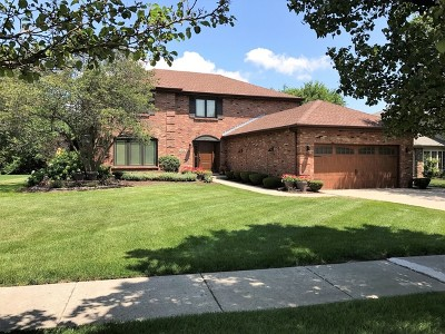 Orland Park Single Family Home Contingent: 14341 Creek Crossing Drive