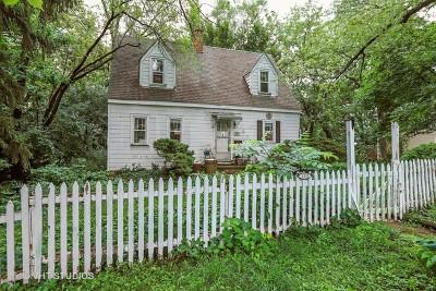 Algonquin Single Family Home New: 1215 Geringer Road