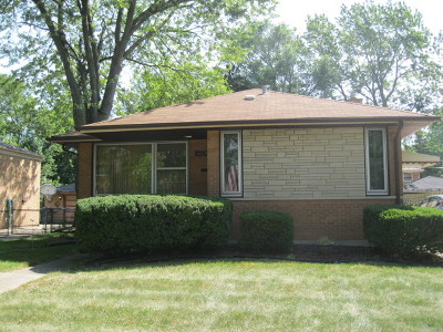 South Holland Single Family Home New: 16025 Dobson Avenue
