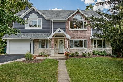 Glen Ellyn Single Family Home For Sale: 819 Highland Avenue