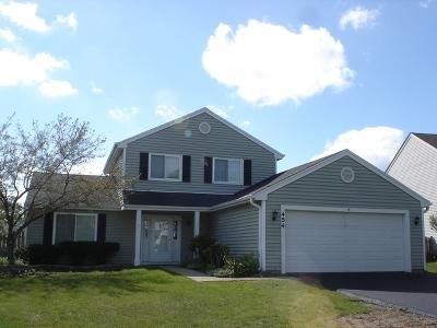 Carol Stream Single Family Home For Sale: 454 Danbury Drive