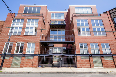 Cook County Condo/Townhouse New: 1705 North Clybourn Avenue #F