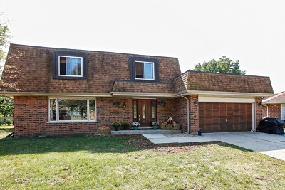 Downers Grove Single Family Home For Sale: 1524 Baker Place