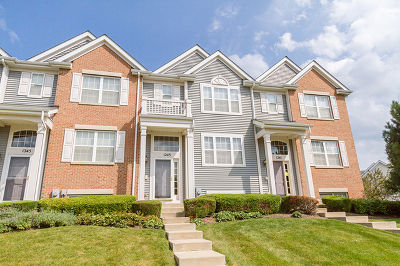 Pingree Grove Condo/Townhouse For Sale: 1243 Derry Lane