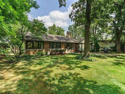 Oak Brook Single Family Home New: 245 Walnut Lane