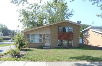 Homewood Single Family Home New: 1139 183rd Street