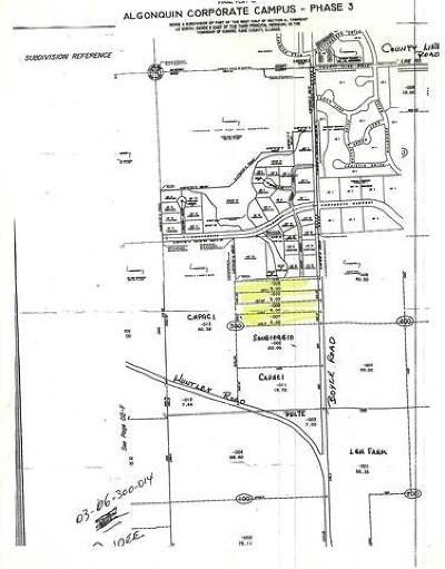 West Dundee Residential Lots & Land For Sale: 19n374 Boyer Road