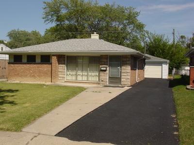 Lansing Single Family Home New: 17941 Wildwood Avenue