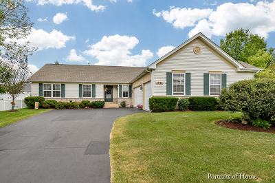 Aurora Single Family Home New: 1338 Deerpath Circle