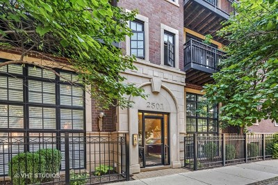 Cook County Condo/Townhouse New: 2501 North Sheffield Avenue #3N