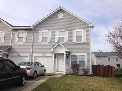 Romeoville Condo/Townhouse For Sale: 684 Edward Drive #684