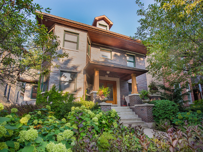 Cook County Single Family Home New: 1342 North Hoyne Avenue